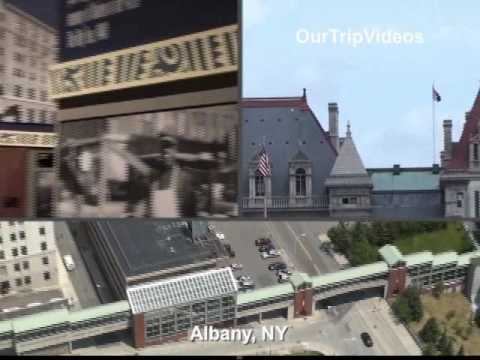 Pictures of Albany (Empire Plaza, Corning Tower, State Museum, USS Slater), NY, USA