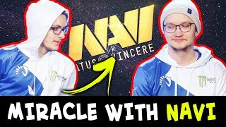 When MIRACLE meets MATUMBAMAN — he gives mid to NAVI