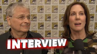 Star Wars: The Force Awakens: Writer Lawrence Kasdan & Producer Kathleen Kennedy Comic Con Interview