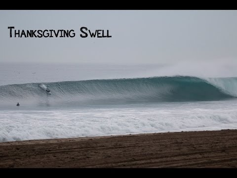 Thanksgiving Surf Session
