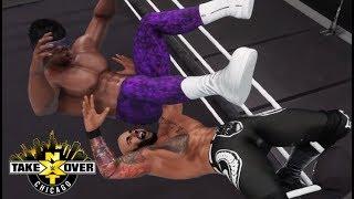 WWE 2K18 RICOCHET VS VELVETEEN DREAM | NXT TAKEOVER CHICAGO II PREDICTION HIGHLIGHTS