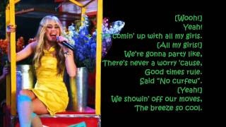 Hannah Montana Forever - ARE YOU READY lyrics