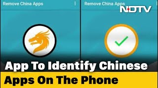 This App claims to remove all Chinese apps from your phone..