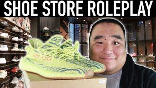 [ASMR] Shoe Store RP 👟 - Tapping, Scratching, Soft Spoken, Yeezy    MattyTingles