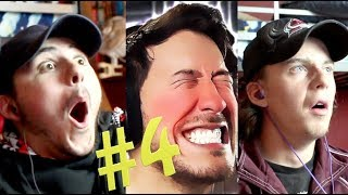 TRY NOT TO LAUGH CHALLENGE!!! #4, MARKIPLIER | Reaction Video |