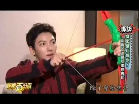 [Eng Sub] 141112 娱乐百分百 Ji Chang Wook cut