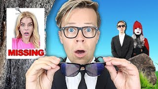 Becoming a Game Master Agent for 24 hours! (GMI Disguise to trick Hacker) Matt and Rebecca