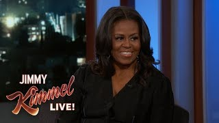 Michelle Obama on Firing Staffers, Running for Office & Barack's Work Ethic