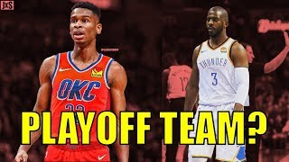 Why the Oklahoma City Thunder Can Still Make the Playoffs This Season!