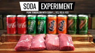 Sous Vide SODA EXPERIMENT - Pork Tenderloin Marination - April's Fools Prank!