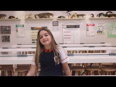 Kamilly Vitória Batista, aluna do 7° ano