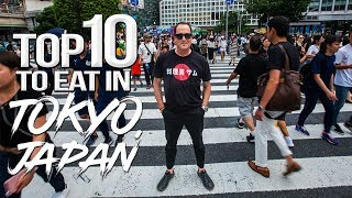 TOP 10 Things to Eat & Drink in Tokyo - Japan Travel Guide (Part 1) | SAM THE COOKING GUY 4K