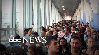 Un fallo en el sistema informático de la Aduana de EEUU provoca el caos en los aeropuertos