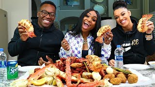 Seafood Boil with The Prince Family