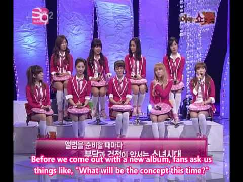 [100405] SNSD FULL ENG SUBS - Story Show Rock EP 25