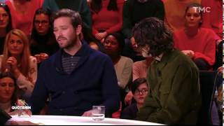 Timothée Chalamet and Armie Hammer on Quotidien (French interview) part 2