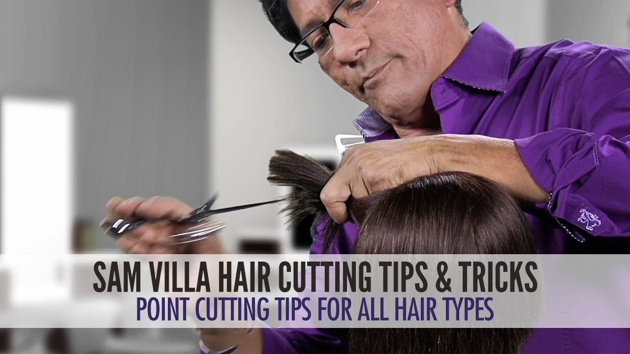 Point Cutting Tips For All Hair Types Remove Weight