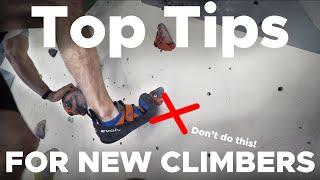 TOP 10 Tips for Beginner Boulderers
