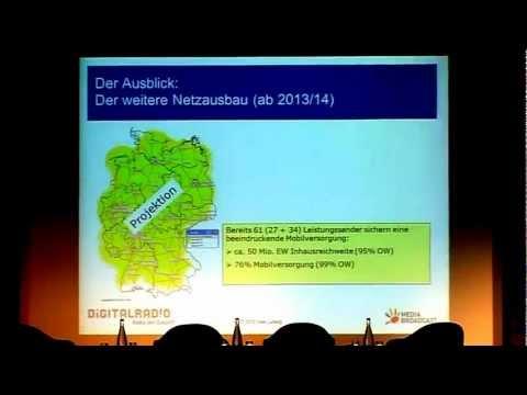 Vortrag: Uwe Ludwig über DAB+-Strategien von MEDIA BROADCAST