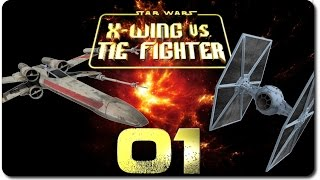X-Wing vs. TIE Fighter #01 -  Endlich gehts! Let's Play X-Wing vs. TIE Fighter Gameplay deutsch