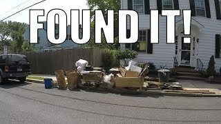 I CAN'T BELIEVE PEOPLE THROW ALL THIS STUFF OUT! Trash Picking Ep. 81