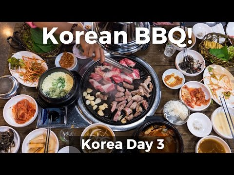 Korean BBQ! (Day 3)
