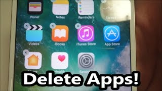 iPhone 7 How to Delete Apps iOS 10