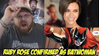 Ruby Rose Confirmed as CW's Batwoman!!!