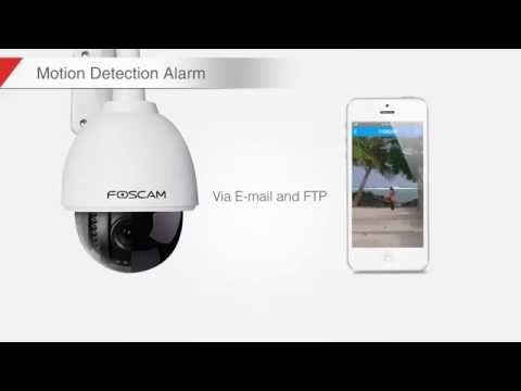 Domo IP WIFI IR Foscam FI9828P 1.3Mp 3X Zoom optico