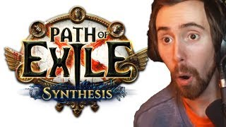 Asmongold Reacts To NEW Path Of Exile Synthesis Trailer