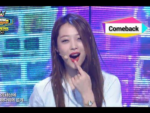 f(x) - All Night, 에프엑스 - 올 나잇, Show Champion 20140709