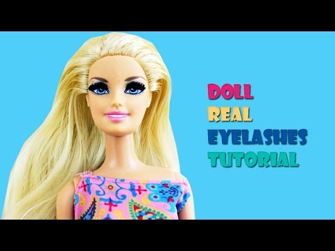 Craft: How to Make Doll Eyelashes
