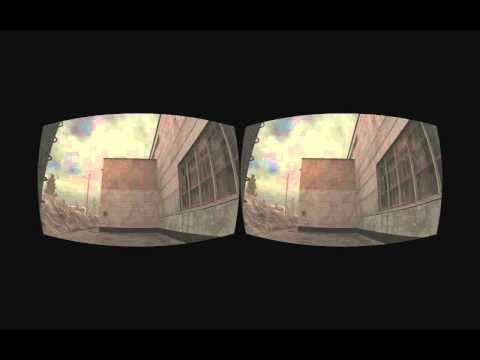 Stalker Call of Pripyat stereoscopic 3D realtime rifted for Oculus Rift
