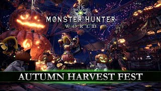Monster Hunter: World - Autumn Harvest Fest