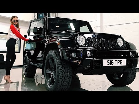 PIMP SARAHS RIDE | Urban Automotive Jeep Wrangler Conversion | Sarah Ashcroft