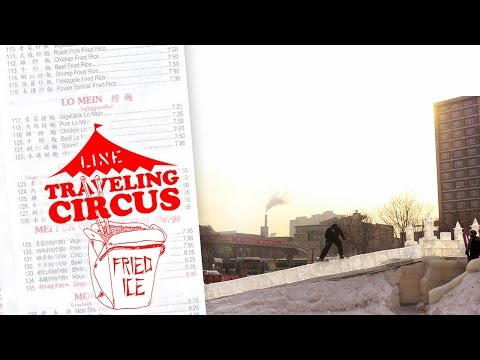 LINE Traveling Circus 8.1 Fried Ice