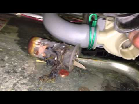 Fixing A No Drain Problem In A Front Load Washer By