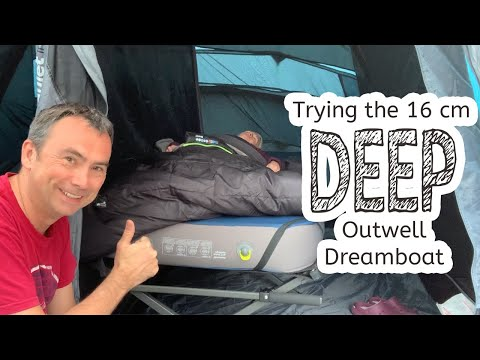 video Wow! 16 cm Outwell Dreamboat – Extremely Comfortable
