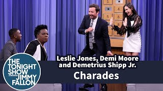 Charades with Leslie Jones, Demi Moore and Demetrius Shipp Jr.