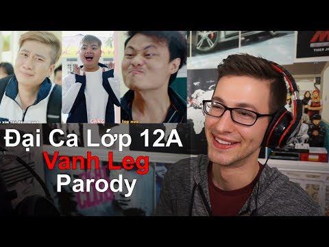 Đại Ca Lớp 12A (Túy Âm + Save Me Parody) - LEG MV Reaction