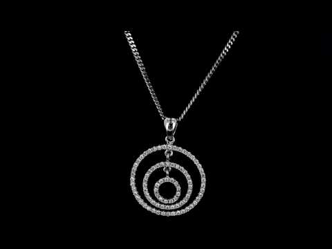Browns Family Jewellers Multi Circle Pendant