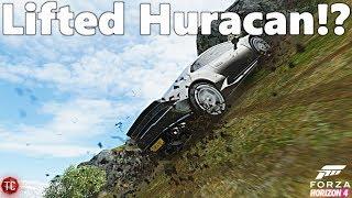 Forza Horizon 4: LIFTED Lamborghini Huracan! Does it WORK!?