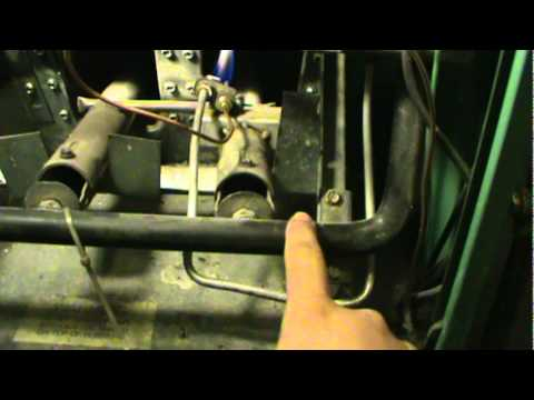 How To Turn Your Furnace Pilot Light On Youtube