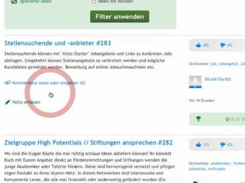 Projekt-Moderation - www.atizo.com