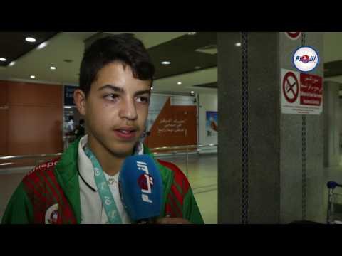 هداف المنتخب المغربي المدرسي يتحدث عن وصفة التألق
