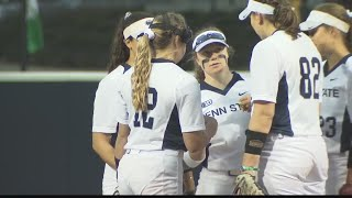 Penn State Softball Takes Run-Rule Loss to Wisconsin Friday