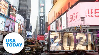 New Year's Eve 2021 celebration in Times Square, New York City | USA TODAY