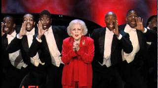 Betty White Surprises Morgan Freeman at the 39th AFI Life Achievement Award