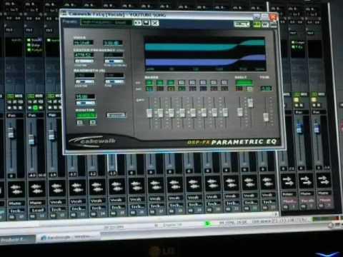 Tutorial Audio Editing # recording, mixing, mastering (sonar, cubase, sonar)