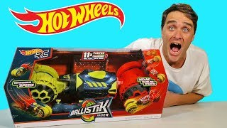 Hot Wheels Ballistik Racer ! || Toy Review || Konas2002